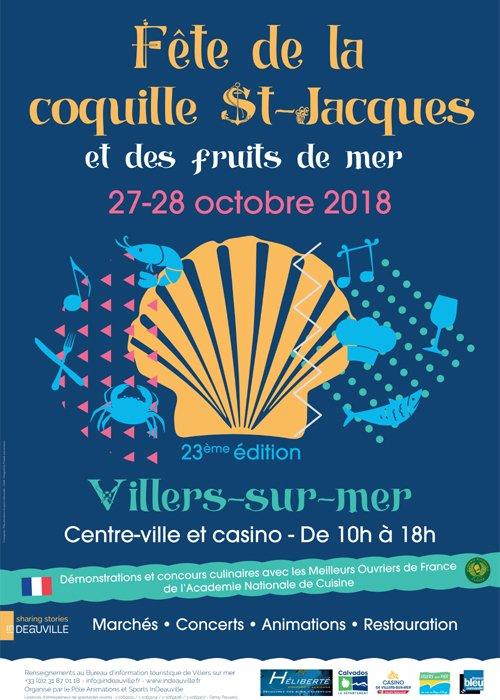 Fête de la coquille à Villers sur Mer 2018 a